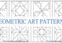 barn quilt patterns designs ideas more Modern Geometric Quilting Patterns Gallery