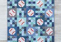 batter up a baseball quilt cluck cluck sew Stylish Basketball Quilt Designs Gallery