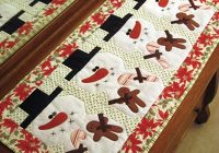 be merry table runner pattern Unique Table Runner Quilt Patterns Gallery