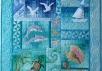 beach themed bedding australia the sea wall quilt pattern Cozy By The Sea Quilt Pattern Gallery