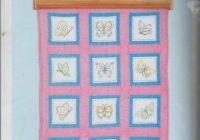 Beautiful 1 jack dempsey butterflies stamped embroidery quilt blocks 9 Elegant Jack Dempsey Quilt Blocks Gallery