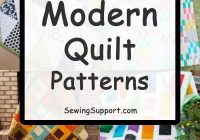 Beautiful 10 easy and free modern quilt patterns simple enough for 9 Beautiful Modern Quilt Designs Patterns