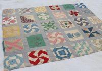 Beautiful 1930s vintage friendship quilt w embroidered patchwork 10 New Vintage Friendship Quilt