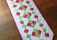 Beautiful 25 show stopping free table runner patterns sewcanshe 9 Cool Table Runner Quilting Patterns Gallery