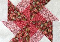 beautiful 9 double pinwheel quilt pre cut block kits lk Modern Double Pinwheel Quilt Pattern Inspirations
