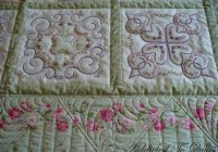 Beautiful addicted to quilts candlewick embroidery candlewicking 9 New Candlewick Quilt Patterns