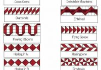 Beautiful border ideas for quilts quilt border quilt patterns 9 Cozy Quilting Borders Patterns