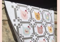 Beautiful chicken scratch quilt pattern poppie cotton pc1901 layer cake friendly fabric from prairie sisters collection 11 Stylish Chicken Scratch Quilt Pattern Inspirations