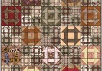 Beautiful churn dash quilt designs 10 Beautiful Vintage Churn Dash Quilt Pattern Inspirations