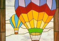 Beautiful cke 6 hot air balloons stained glass patterns full size 11   Hot Air Balloon Quilt Pattern