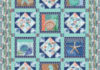 Beautiful coastal dreams quilt 2 quilts quilt shop fabric projects 11 Stylish Wholesale Quilt Patterns Gallery