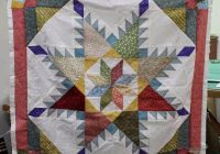 Beautiful crazy quilter on a bike vintage moments Stylish Vintage Moments Quilt Pattern Gallery