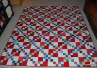 Beautiful double 4 patch maryquilts 11 Stylish Four Patch Quilt Ideas Gallery