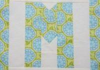 Beautiful easy as abc qal letter m alphabet quilt heart quilt 11 Interesting Alphabet Quilt Block Patterns Gallery