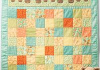 Beautiful easy ba quilt patterns choose one of them for your ba New Patchwork Baby Quilt Pattern Inspirations