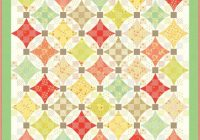 Beautiful ella ollie quilt kit moda fabric quilt pattern 9   Moda Fabric Quilt Patterns Gallery