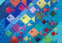 Beautiful fish quilt pattern about quilts summer on pinterest Stylish Quilting Pinterest