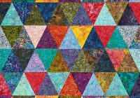 Beautiful free batik quilt patterns allpeoplequilt 10 Cozy Quilt Patterns For Batiks Inspirations