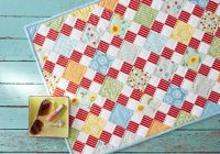 Beautiful free fat quarter friendly quilt patterns allpeoplequilt New 10 Fat Quarter Quilt Pattern Gallery
