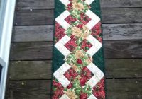 Beautiful free tutorial christmas runner tutorial karen paschke Cool Simple Quilted Table Runner Patterns