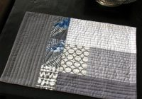 Beautiful fun and done quilted placemat patterns place mats quilted Modern Pattern For Quilted Placemats Gallery