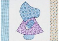 Beautiful go sunbonnet sue quilt block pattern Cozy Sunbonnet Sue Quilt Patterns Inspirations