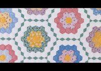 Beautiful grandmothers flower garden Grandma Flower Garden Quilt Pattern