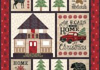 Beautiful home for christmas quilt pattern 11 Unique Christmas Quilt Ideas Gallery