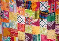 Beautiful indian handmade quilt vintage kantha bedspread throw cotton queen indian gudari 9 Stylish Vintage Kantha Quilts Gallery