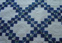 Beautiful irish chain irish quilt patterns irish quilt irish chain 10   Double Irish Chain Quilt Pattern Queen