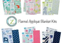 Beautiful land of whimzie applique ba blankets fabric editions blog 10   Stylish Baby Quilt Kits Joann Fabrics Inspirations