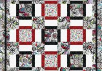 Beautiful love that print 9 Stylish Quilt Patterns For Large Prints Gallery