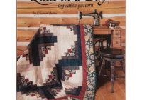 Beautiful make a quilt in a day log cabin pattern hob lob 567560 Cozy Eleanor Burns Log Cabin Quilt Pattern