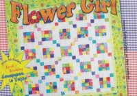 Beautiful me and my sister designs flower girl quilting patterns 11 Beautiful Me And My Sister Quilt Patterns Inspirations