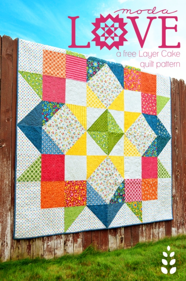 Permalink to 11 Stylish Layer Cake Quilt Patterns By Moda