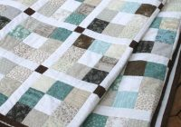 Beautiful modern quilt pattern jelly roll quilt pattern pdf 5 sizes Cozy King Size Patchwork Quilt Pattern