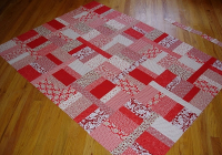 Beautiful moving on to the past quilt top wickedly easy red easy 9   Wickedly Easy Quilt Pattern