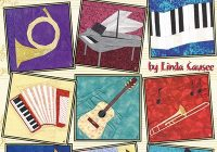 Beautiful musical quilt blocks 11 Modern Quilt Blocks Patterns Gallery