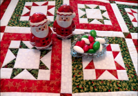 Beautiful north star potholders for any season quilting digest Modern Northstar Quilted Potholder Pattern Gallery