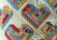 Beautiful obies the fabric hoarding store of your dreams quilts 9   Scrappy Log Cabin Quilt Pattern