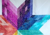 beautiful ombre confetti quilt using the pattern mega star Cozy Beautiful Ombre Quilting Fabric Ideas Gallery