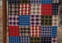 Beautiful plaid flannel quilt pink polka dot creations 11 Interesting Easy Flannel Quilt Patterns