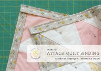 Beautiful quilt binding attaching the binding village bound quilts 10 Cool Sewing Binding On A Quilt