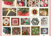 Beautiful quilt inspiration free pattern day christmas tree skirts 11 Modern Quilt Tree Skirt Pattern Gallery