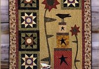 Beautiful quilt patterns country lore designs fall quilts wall Cozy Country Primitive Quilt Patterns Inspirations