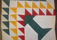 Beautiful quilts and patches 11 Modern Flying Geese Quilt Pattern History