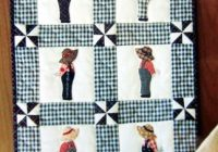 Beautiful shy overall sam little eureka quilt pattern girl quilts 10 Cozy Sunbonnet Sam Quilt Pattern Gallery