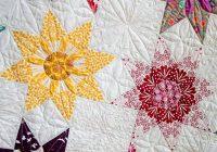 Beautiful star dahlia vintage quilt pattern 10 Beautiful Vintage Quilt Pattern Inspirations