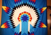 Beautiful star quilts i love native american quilt patterns native Elegant Indian War Bonnet Quilt Pattern Inspirations