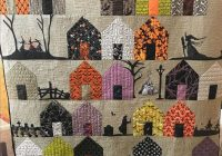 Beautiful suburbs 137 pdf pattern halloween quilt patterns 11 Modern Halloween Quilts Patterns